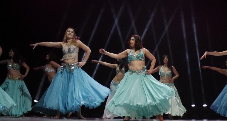 Arabic Dancing in Santiago